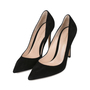 Authentic Second Hand Gianvito Rossi Pointed Toe Pumps (PSS-126-00078) - Thumbnail 4