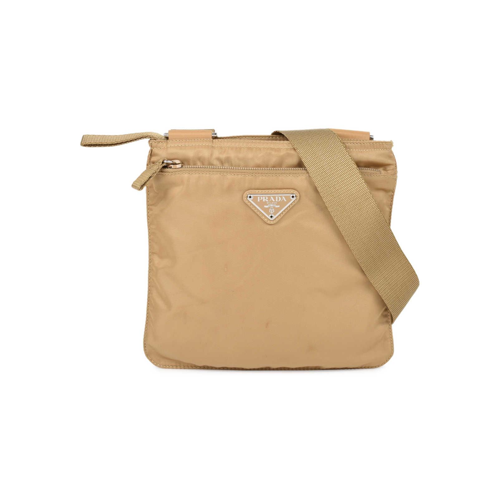 e14cd4c3926c Authentic Second Hand Prada Nylon Messenger Bag (PSS-126-00083) - Thumbnail  ...