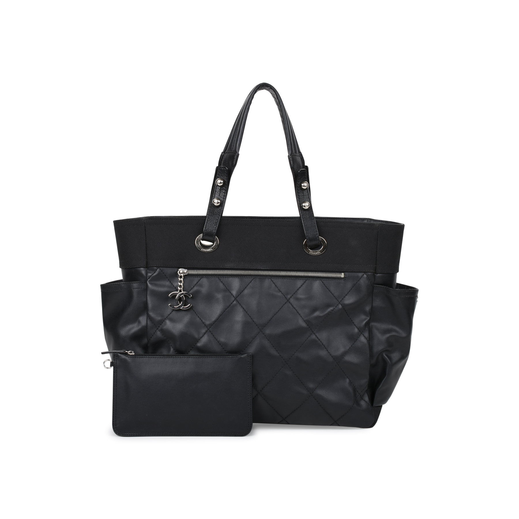 c7e060d032a3 Authentic Second Hand Chanel Paris Biarritz Tote Bag (PSS-523-00002) | THE  FIFTH COLLECTION