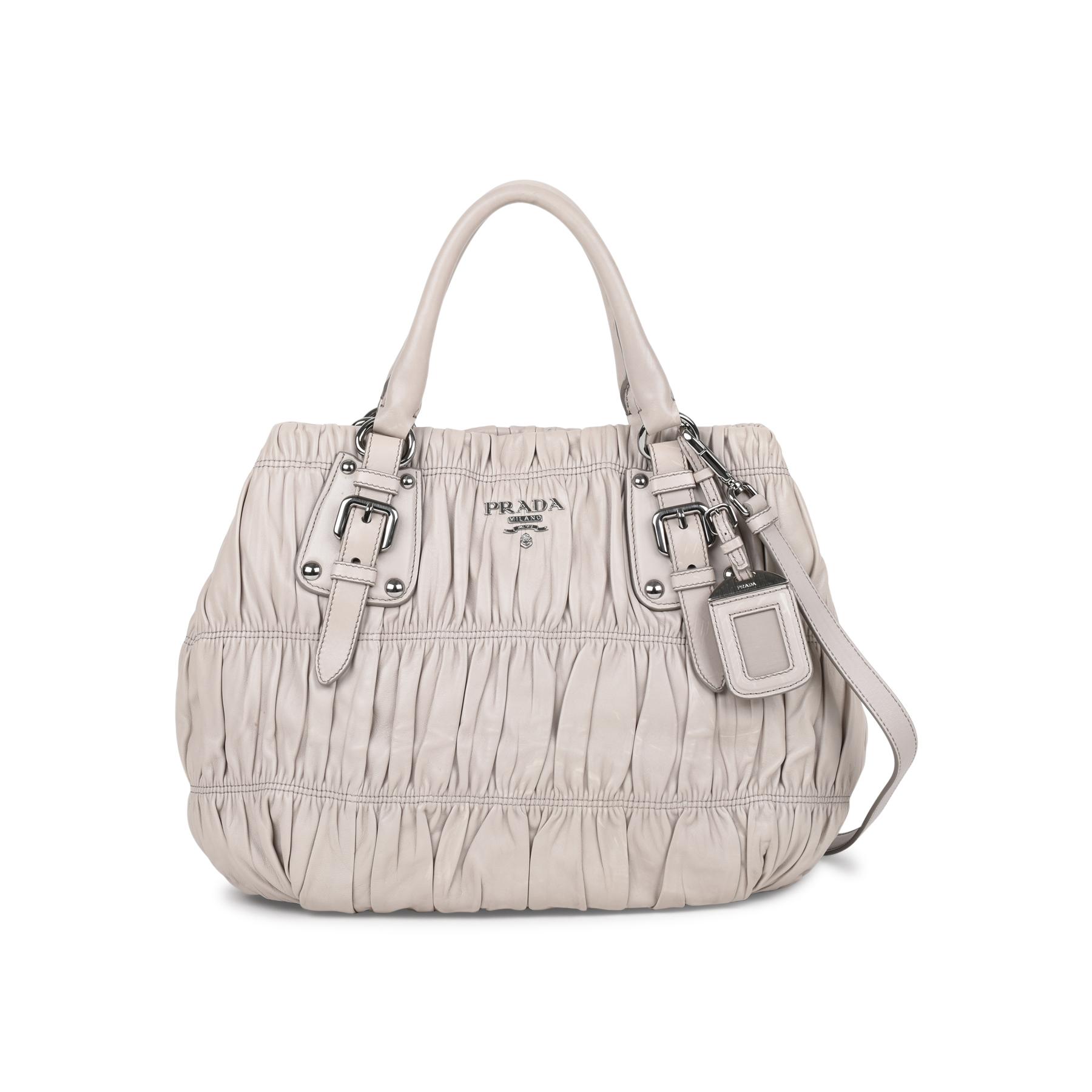 8ebdb98ff332 Authentic Second Hand Prada Nappa Gaufre Bag (PSS-523-00003)