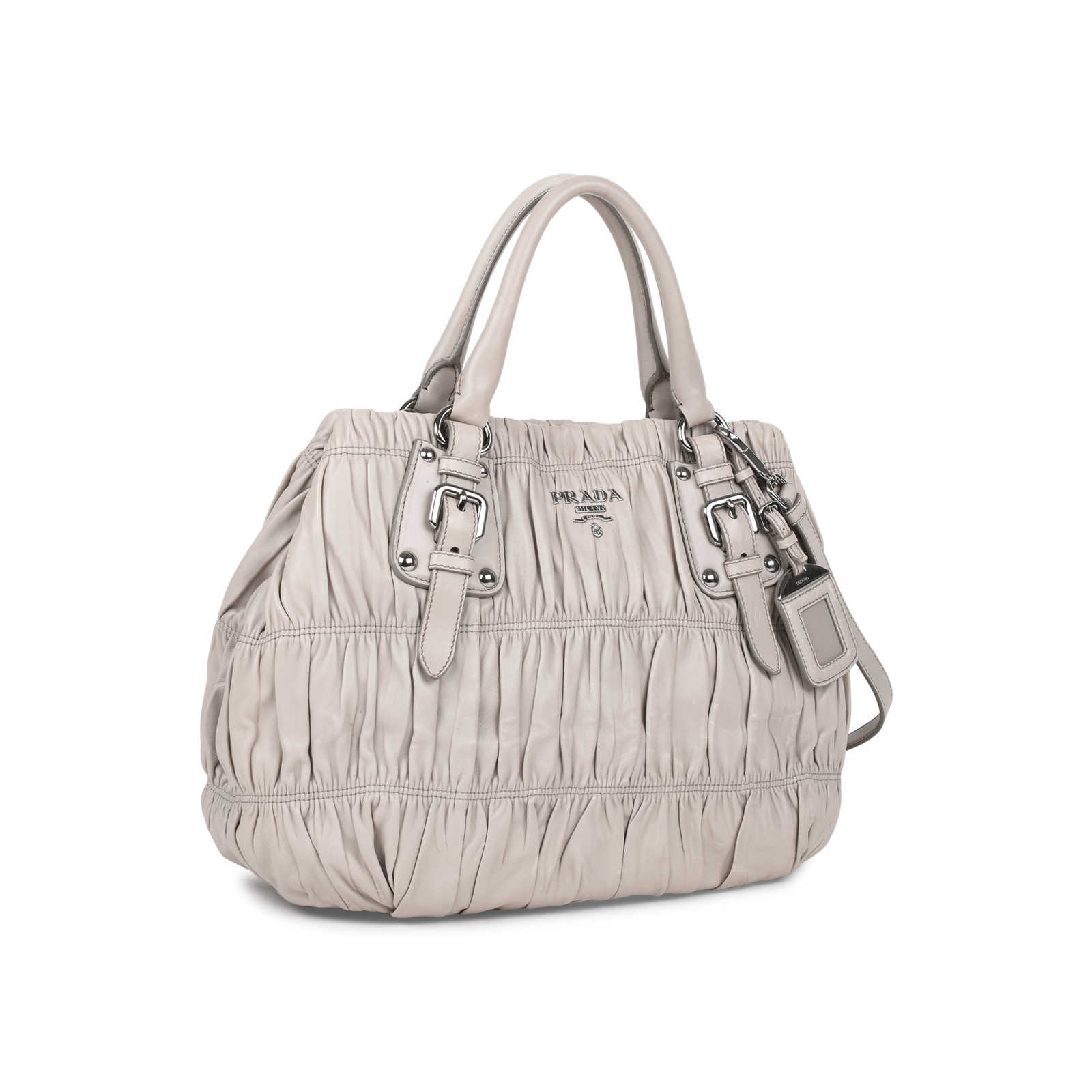 0330ddf9be47 ... Authentic Second Hand Prada Nappa Gaufre Bag (PSS-523-00003) - Thumbnail  ...