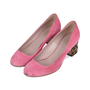 Authentic Second Hand Gucci Dahlia Bamboo Suede Pumps (PSS-515-00004) - Thumbnail 4