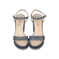 Tweed Platform Sandals