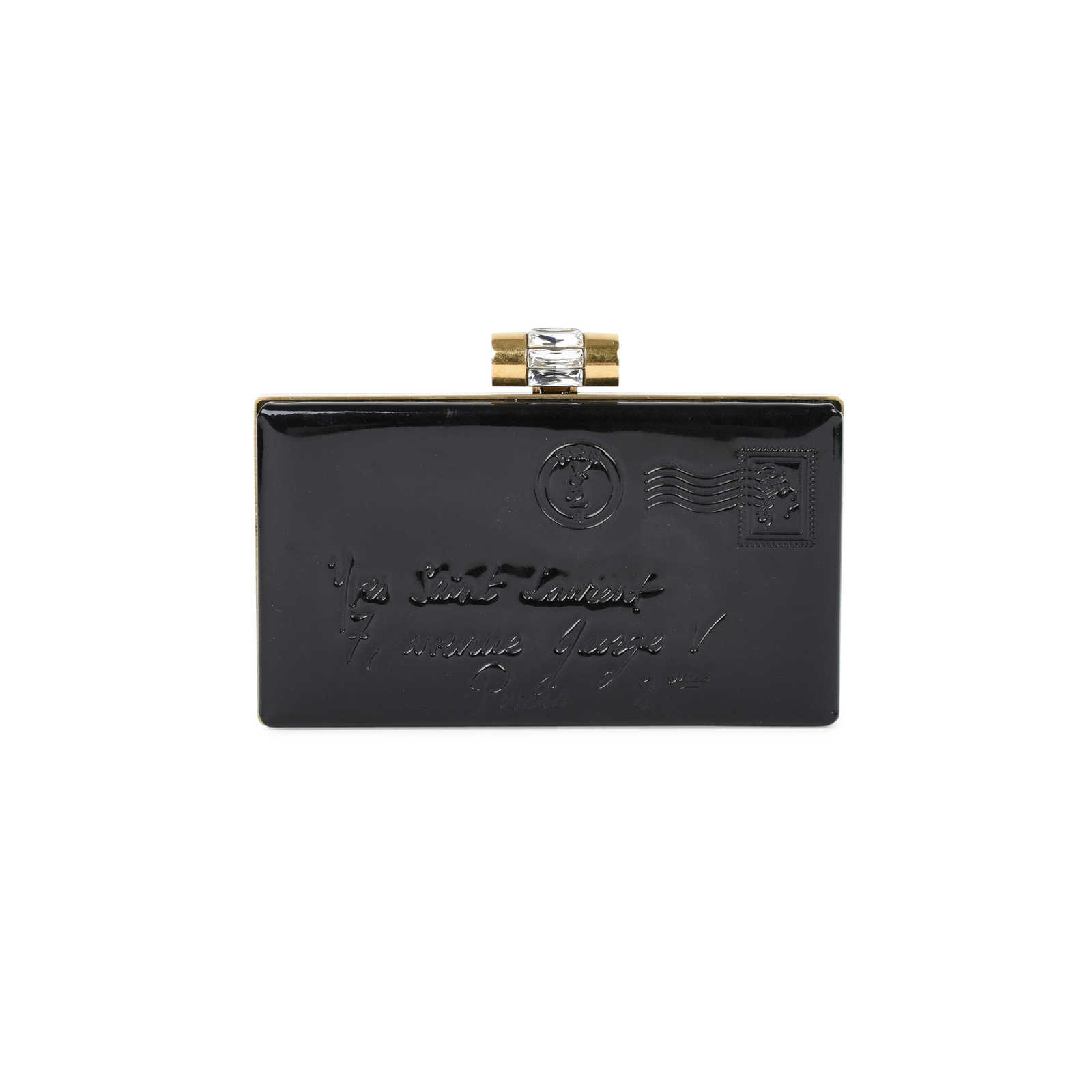Authentic Second Hand Yves Saint Laurent Y Mail Clutch (PSS