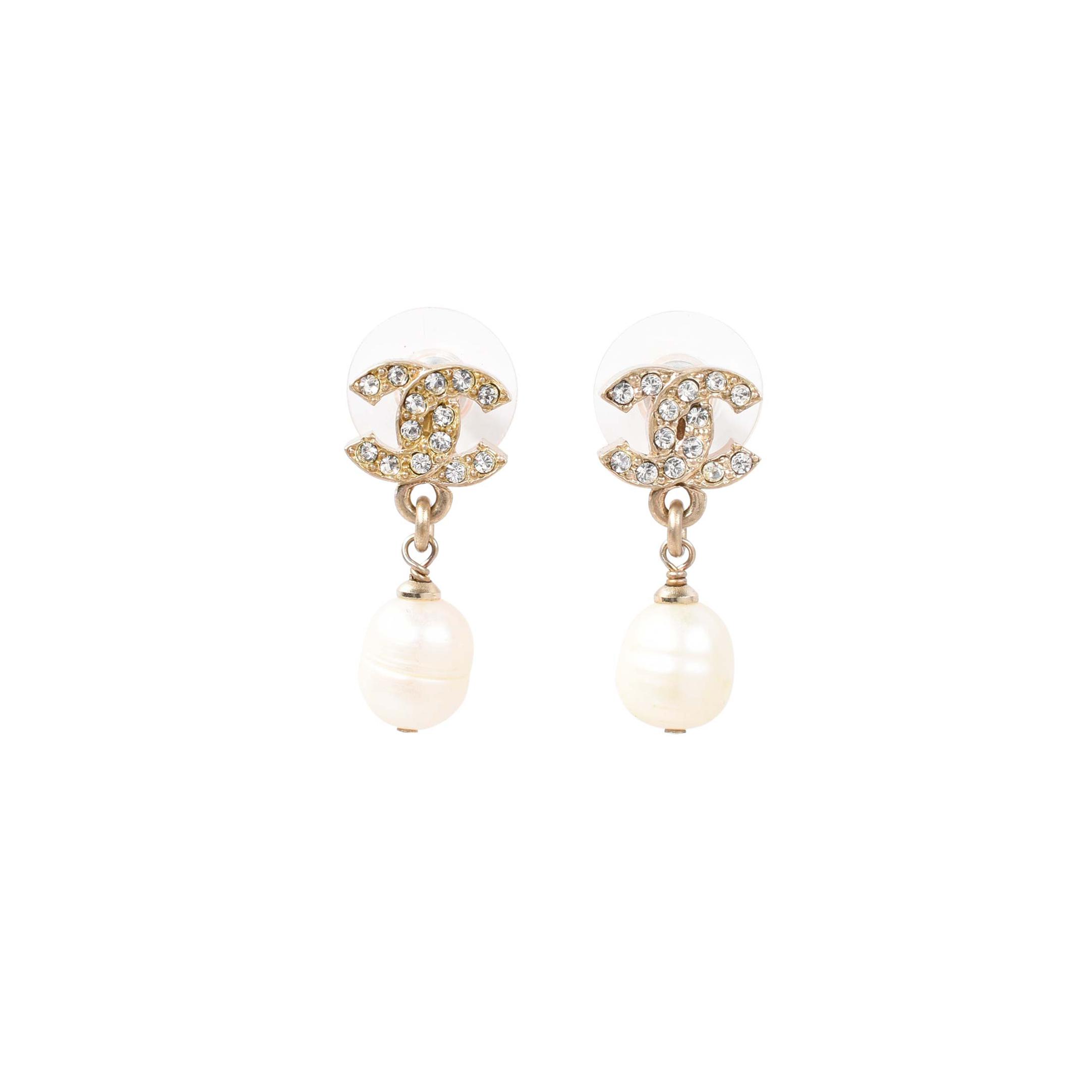 64f3cd49 Chanel Pearl Earrings - The Best Produck Of Earring