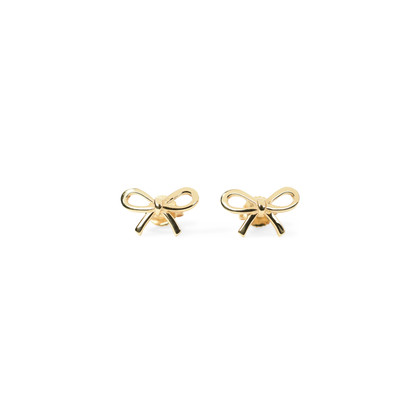 Authentic Second Hand Tiffany & Co Bow Earrings (PSS-233-00035)