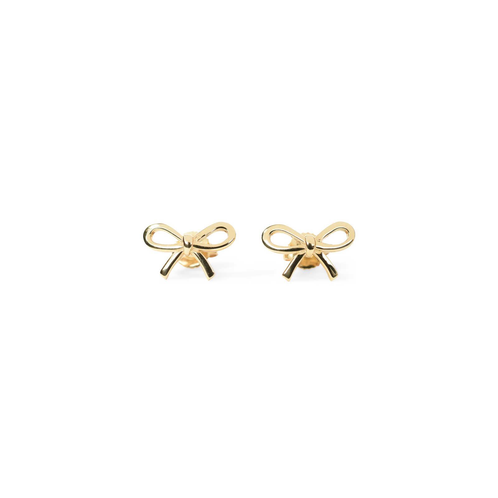 Authentic Pre Owned Tiffany Co Bow Earrings Pss 233 00035