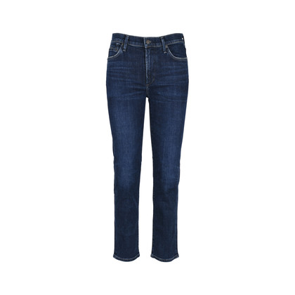 Authentic Second Hand Citizens of Humanity High Rise Cigarette Jeans (PSS-126-00089)