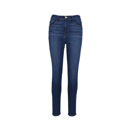 Authentic Second Hand Frame Ali High Rise Skinny Jeans (PSS-126-00091)