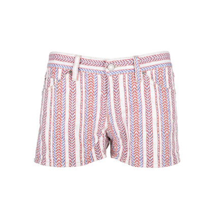 Authentic Second Hand Isabel Marant Étoile Printed Denim Shorts (PSS-126-00094)