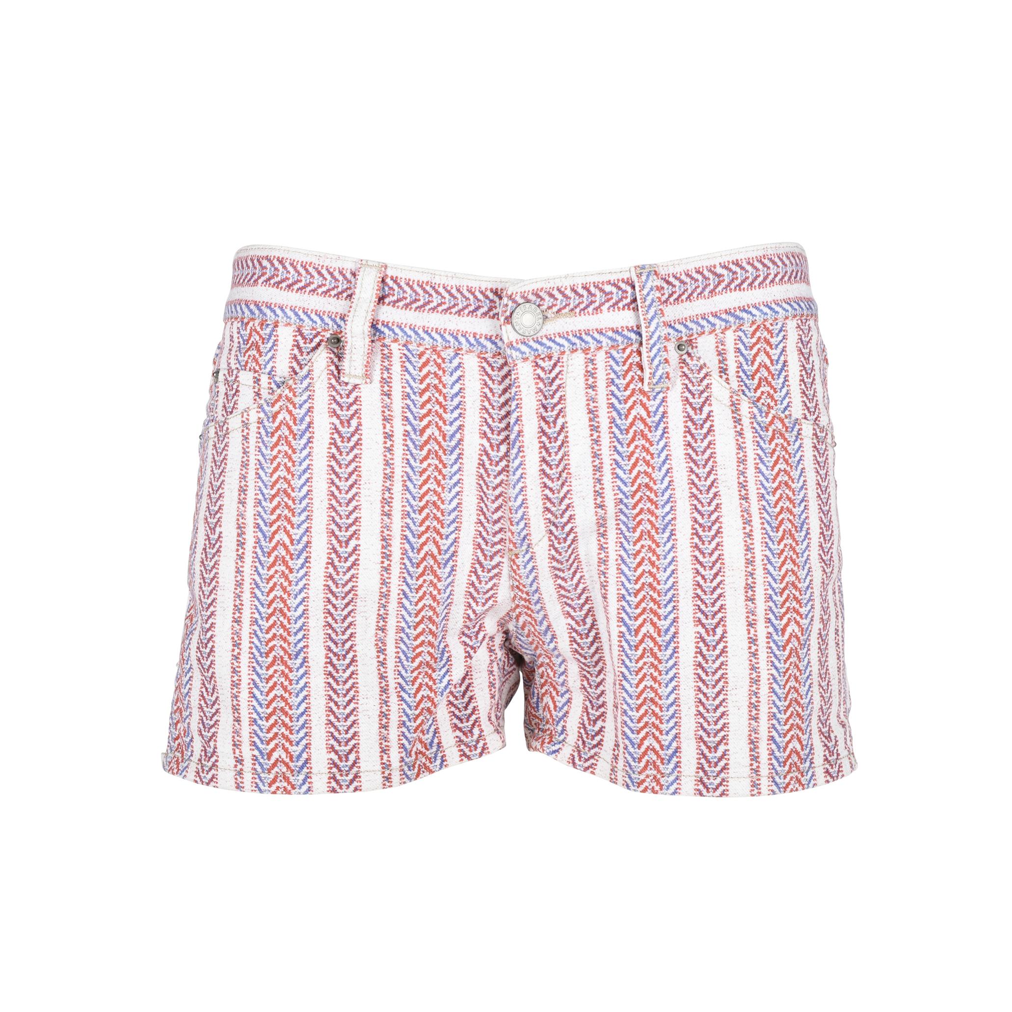 c38480305af Authentic Second Hand Isabel Marant Étoile Printed Denim Shorts  (PSS-126-00094)