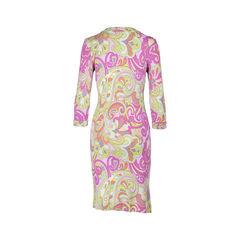 Etro floral paisley dress multicolour 2?1531973795