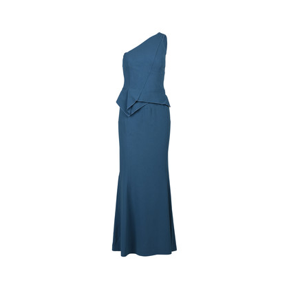 Authentic Second Hand Roland Mouret Wendower One Shoulder Crepe Gown (PSS-126-00093)