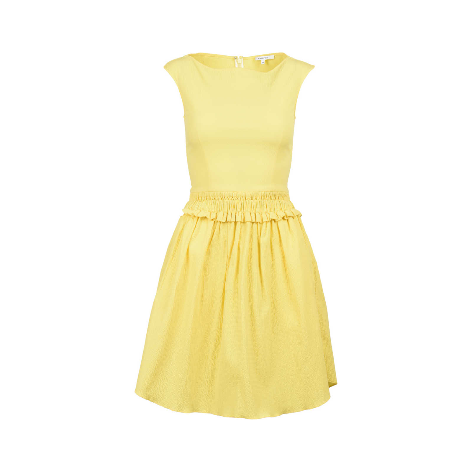 Second Hand Carven Ruched Waist Dress | THE FIFTH COLLECTION