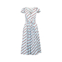 Authentic Second Hand Marc Jacobs Zig Zag Striped Dress (PSS-506-00004) - Thumbnail 0