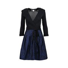 Jewel Wrap Dress