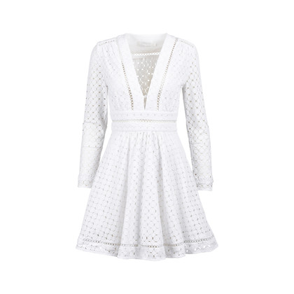 Authentic Second Hand Zimmermann Crochet Dress (PSS-233-00038)