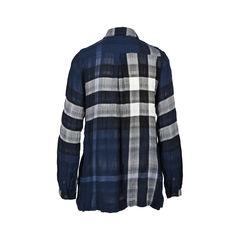 Burberry flannel shirt dress 2?1531987998
