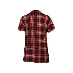 Marc jacobs ruffled plaid cotton jersey top 2?1531988170