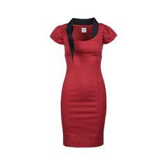 Bow Sheath Dress