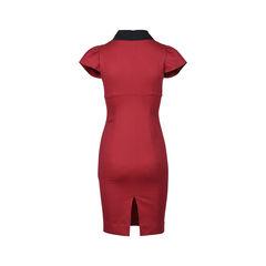 Red valentino bow sheath dress 2?1531988257