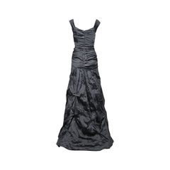 Nicole miller sweetheart metallic gown 2?1531988910