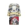 Authentic Second Hand Mary Katrantzou Eve Swan Village Shift Dress (PSS-200-01331) - Thumbnail 1