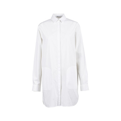 Authentic Second Hand T Alexander Wang Cotton Poplin Shirt Dress (PSS-200-01090)