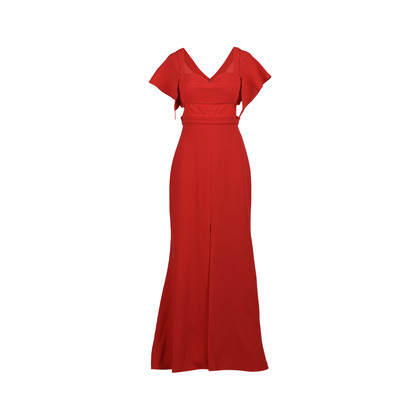 Authentic Second Hand Prabal Gurung Cut Out Detail Evening Gown (PSS-200-01300)