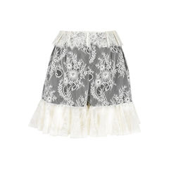 Lace Skirt Shorts