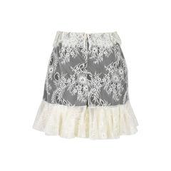 Philosophy di lorenzo serafini lace skirt shorts 2?1532335527