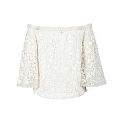 Pankaj nidhi couture embroidered beaded peasant style blouse white 2?1532336933