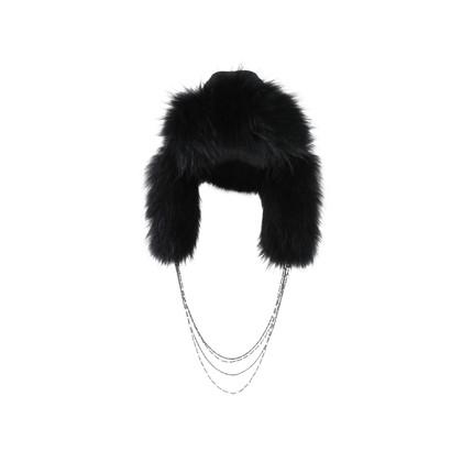 Authentic Second Hand Maison Michel Fur Hood (PSS-200-01405)