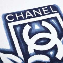 Chanel camellia beach towel multicolour 2?1532491451