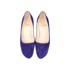 e9154dcd3031 Authentic Second Hand Christian Louboutin Suede Daffodile Pumps (PSS ...