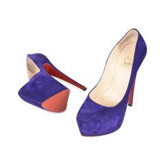 Christian louboutin suede daffodile pumps purple 2?1532506977
