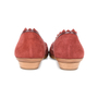 Authentic Second Hand Salvatore Ferragamo Scalloped D'Orsay Flats (PSS-518-00002) - Thumbnail 3