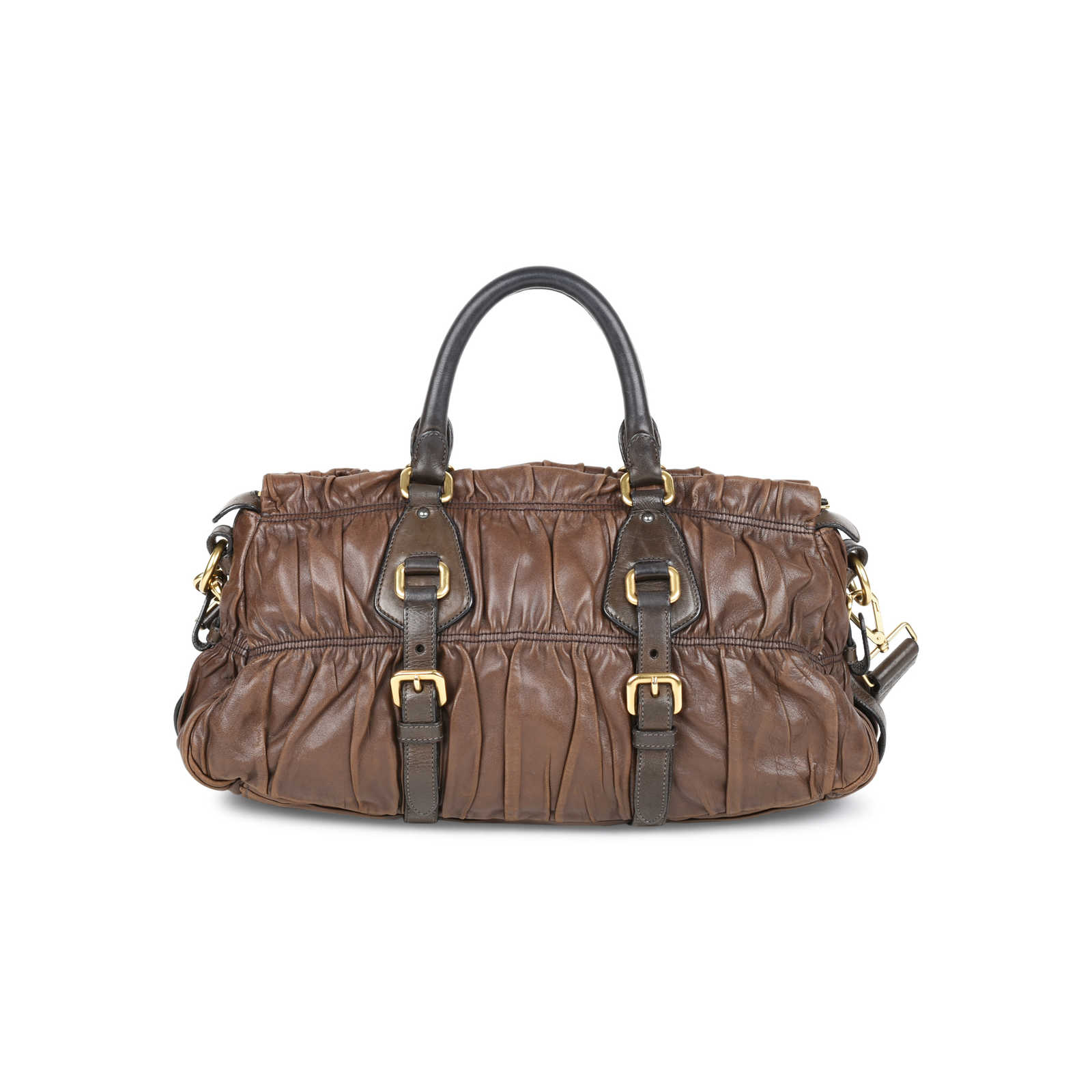 546ff51d17b7 ... Authentic Second Hand Prada Gaufre Nappa Leather Bag (PSS-499-00001) ...