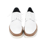Authentic Pre Owned Jil Sander Platform Leather Derby Shoes (PSS-200-01117) - Thumbnail 0