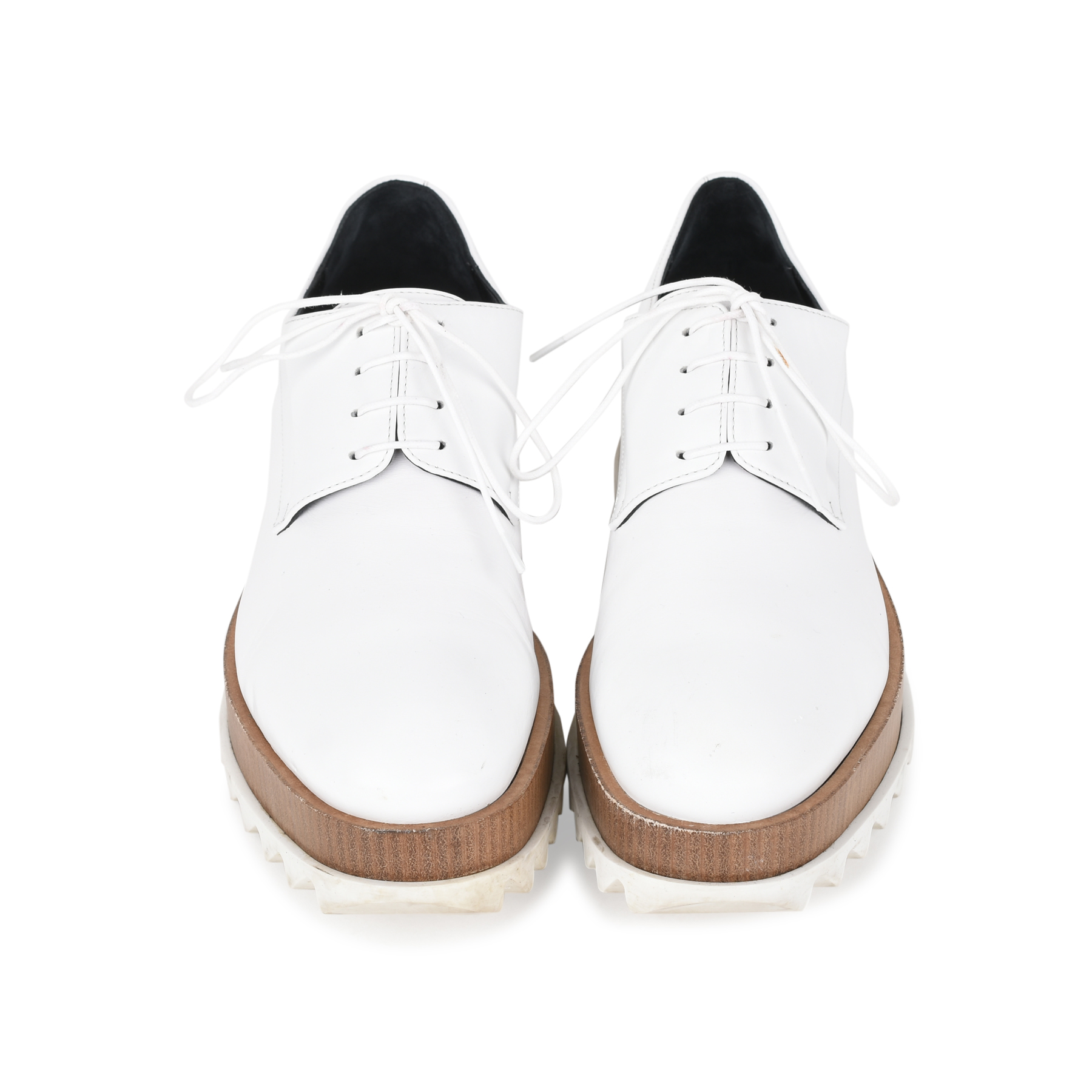 a3b40c6884f Authentic Second Hand Jil Sander Platform Leather Derby Shoes (PSS-200-01117)