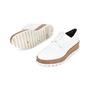 Authentic Pre Owned Jil Sander Platform Leather Derby Shoes (PSS-200-01117) - Thumbnail 1
