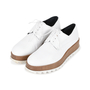 Authentic Pre Owned Jil Sander Platform Leather Derby Shoes (PSS-200-01117) - Thumbnail 3