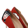 Authentic Second Hand Charlotte Olympia Archie Comics Suede Pumps (PSS-200-01119) - Thumbnail 6