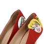Authentic Second Hand Charlotte Olympia Archie Comics Suede Pumps (PSS-200-01119) - Thumbnail 7