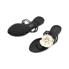 Chanel camellia thong sandals 2?1532580014