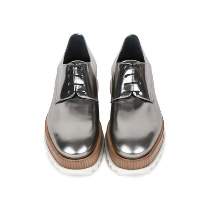 Authentic Second Hand Jil Sander Platform Leather Derby Shoes (PSS-200-01131)