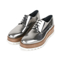 Authentic Second Hand Jil Sander Platform Leather Derby Shoes (PSS-200-01131) - Thumbnail 2