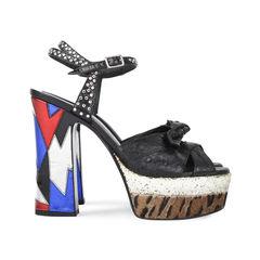 Saint laurent candy ostrich platform sandals 5?1532580175