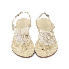 Flower Thong Sandals