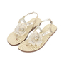 Authentic Second Hand Roberto Cavalli Flower Thong Sandals (PSS-200-01134) - Thumbnail 3